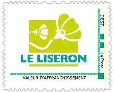 Timbre de l'association Le Liseron